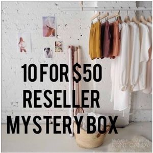 LAST ONE! 10 for $50 mystery box!